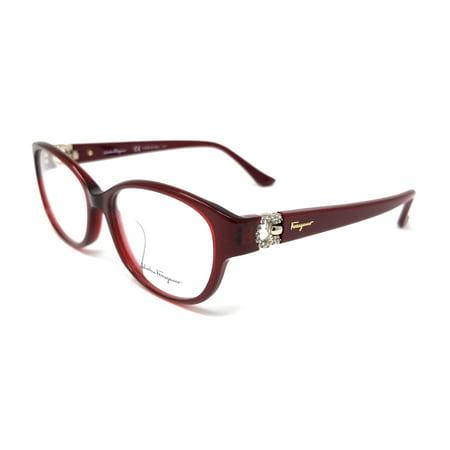 Salvatore Ferragamo Eyeglasses SF2744RA 604 Bordeaux Women's (Best Salvatore Ferragamo Mens Eyeglasses)