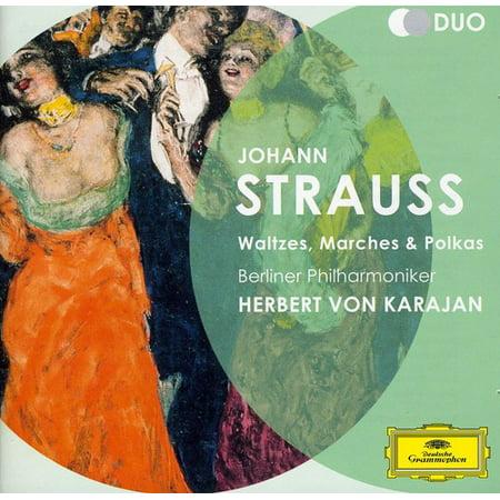 Strauss II. J.: Waltzes Marches & Polkas (CD) ()