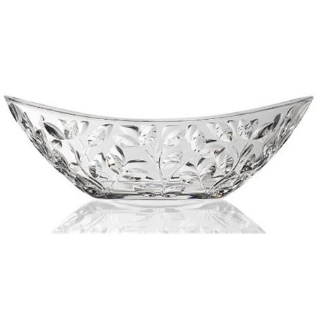 RCR Laurus Crystal Oval Bowl ()