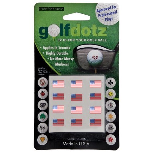 Golfdotz US Flag