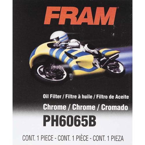 FRAM Motorcycle Oil Filter, PH6065B
