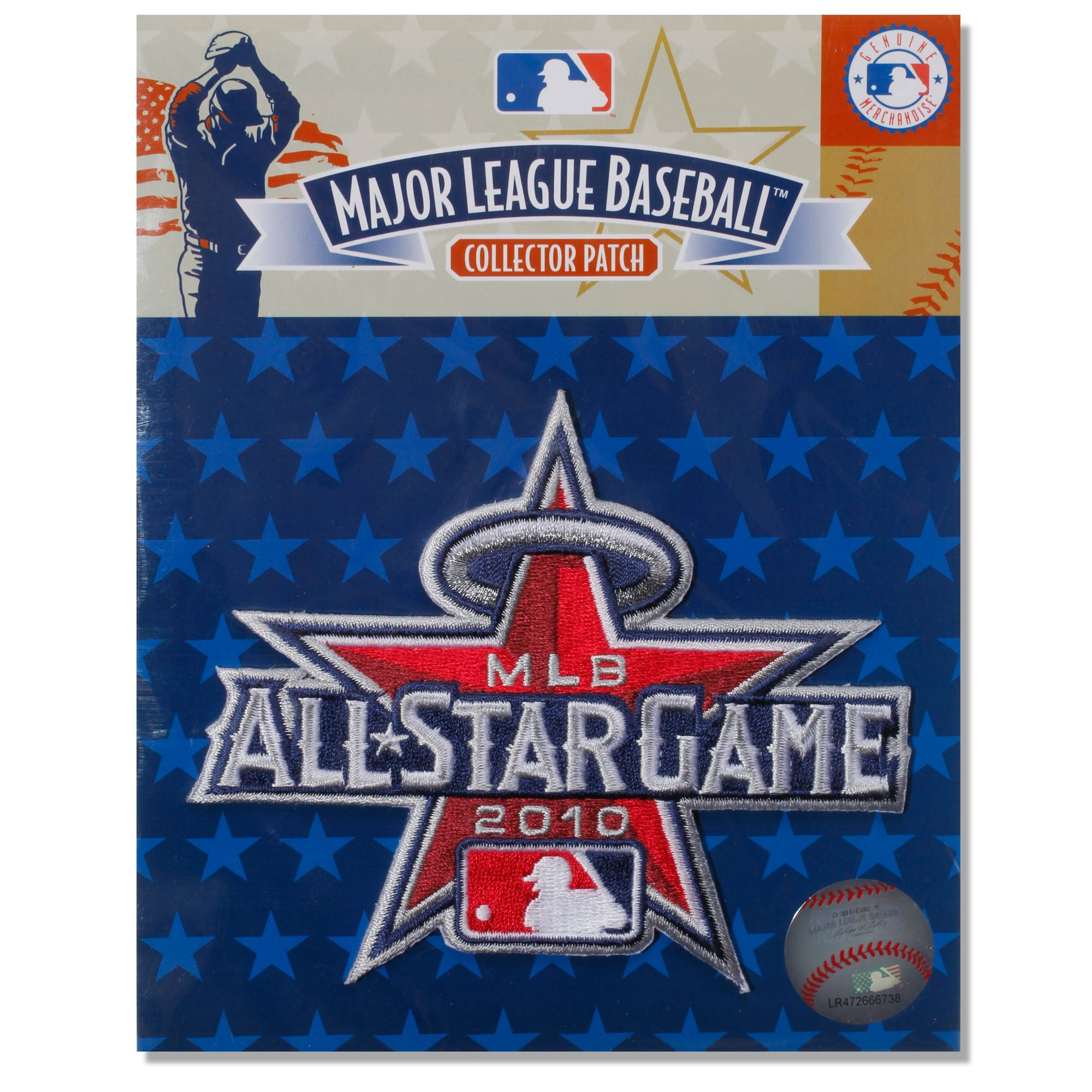 Los Angeles Angels 2010 Replica All-Star Game Patch - Red - No Size