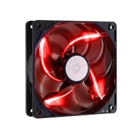Cooler Master SickleFlow 120 - Sleeve Bearing 120mm 3-Pin LED Silent Fan for Computer Cases, CPU Coolers, and Radiators - Red (R4-L2R-20AR-R1)