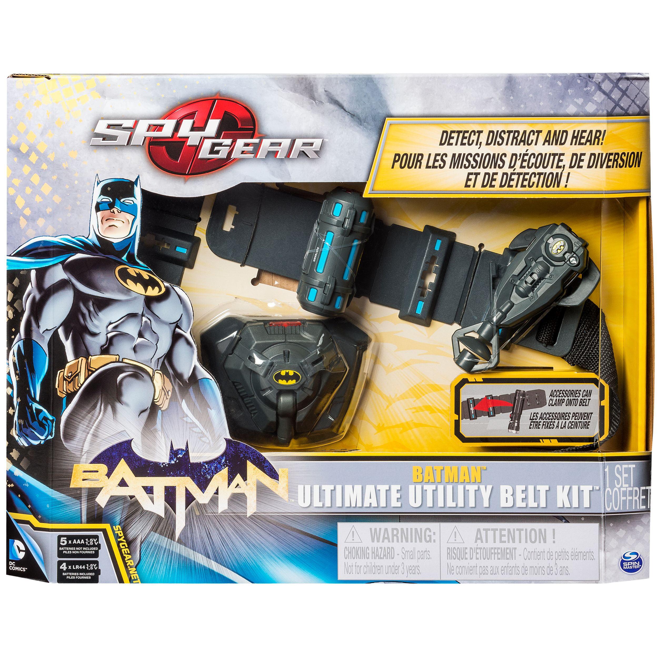 Spy Gear Batman Ultimate Utility Belt Bundle Walmart