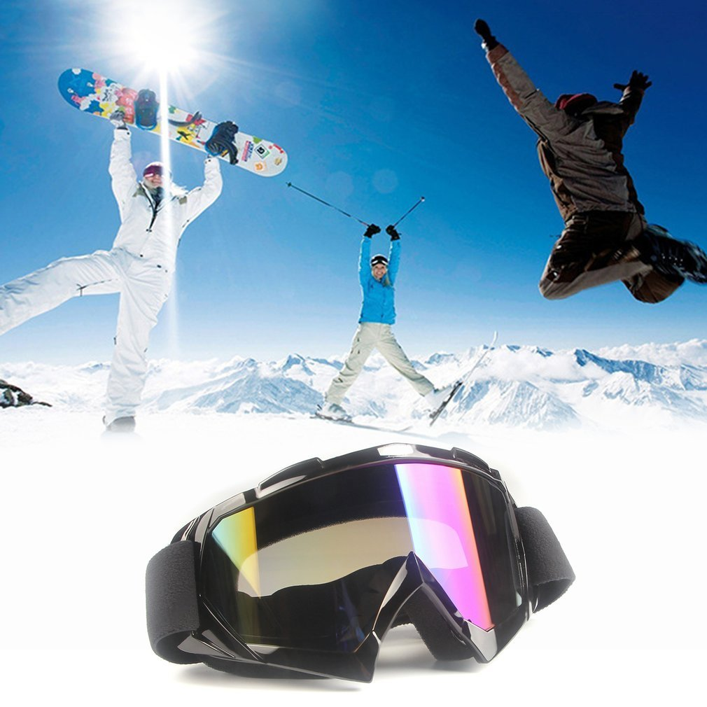 X600 Motorcycle Equipment Off-road Windproof Anti-fog Tactical Goggles Skiing Goggles Outdoor UV400 Protection by