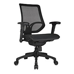 WorkPro® 1000 Series Mesh Mid-Back Task Chair, Black