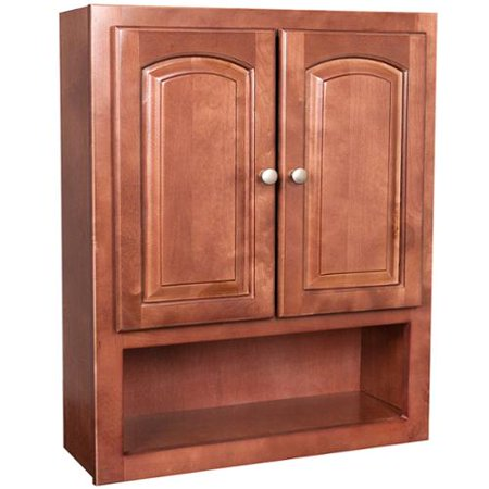 Sunset 2 door bathroom wall cabinet for Bathroom 2 door wall cabinet