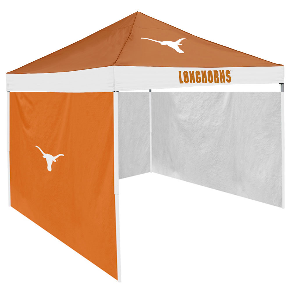 Texas Longhorns NCAA 9' x 9' Economy 2 Logo Pop-Up Canopy Tailgate Tent