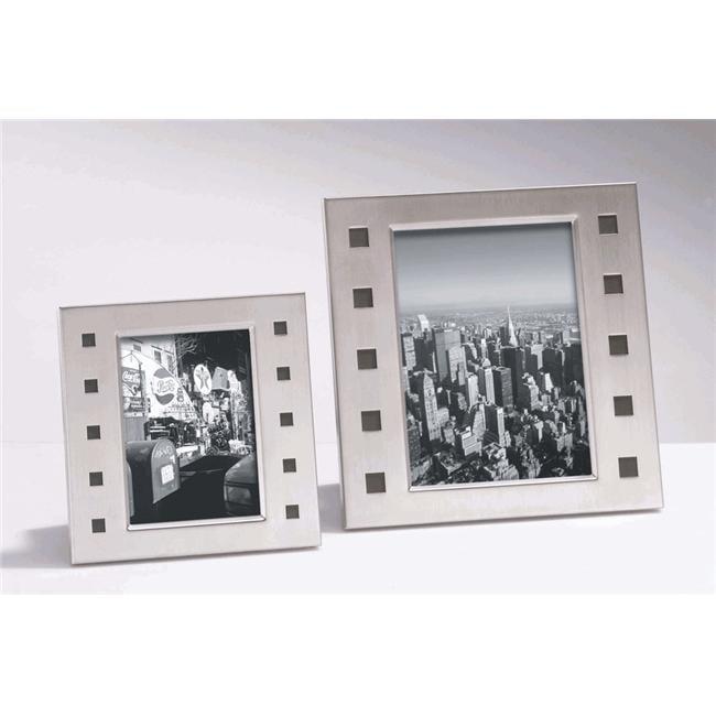 Zack 22731 ECCO photo frame f.5.12x7.09 inch Stainless Steel