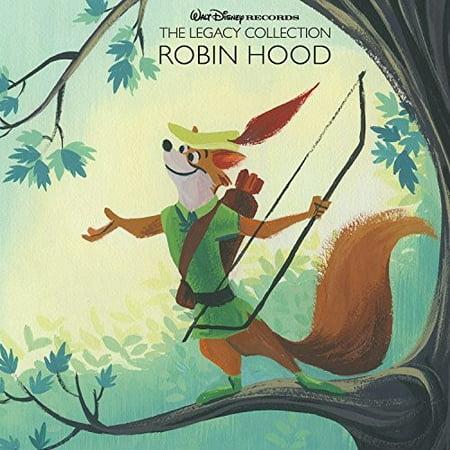 Walt Disney Records The Legacy Collection: Robin Hood (CD) (Walt Disney Film Di Halloween)