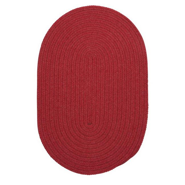 Colonial Mills Bristol Red Outdoor Area Rug