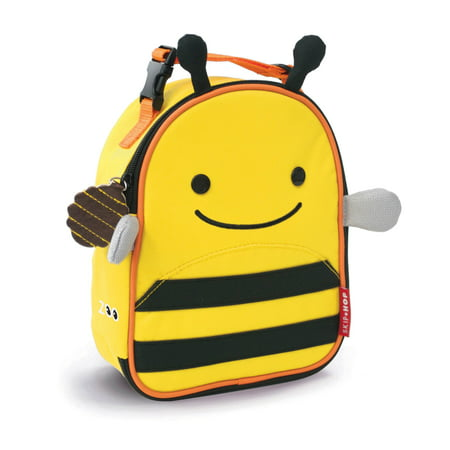Skip Hop Lunch Bag - Skip Hop Zoo Lunchie Insulated Lunch Bag, Bee