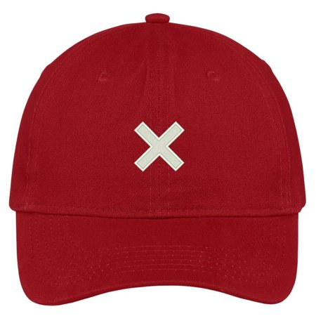 Trendy Apparel Shop Big Cross Embroidered Soft Cotton Adjustable Cap Dad Hat  - Walmart.com 51a7c6544a05