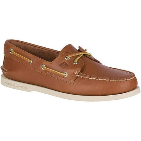 - Sperry Top-Sider 0532002 : Men's A/O 2 Eye Boat Shoe Tan