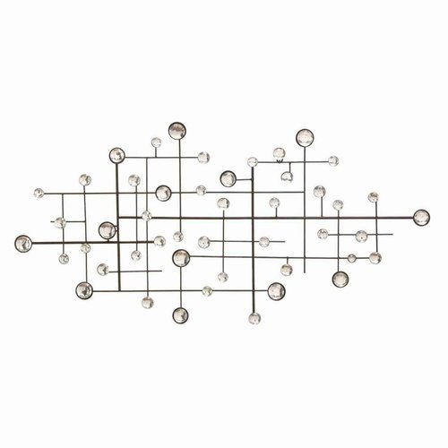 Woodland Imports 13749 Metal Glass Bead Wall Decor by Woodland Imports