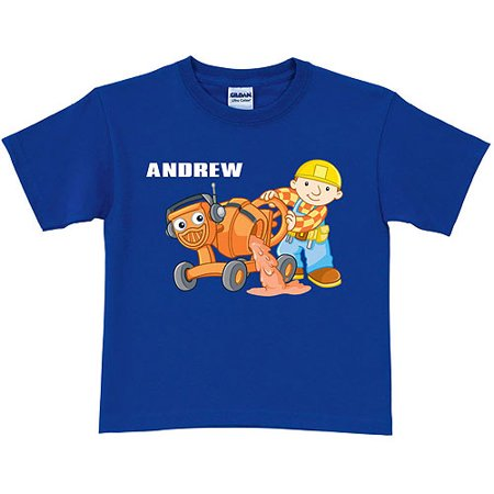 Personalized Bob the Builder Dizzy Toddler Royal Blue T-Shirt](Purple Bob)