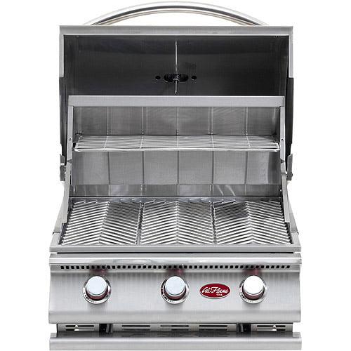 Gourmet Series 3-Burner Built-In Stainless Steel Gas Grill