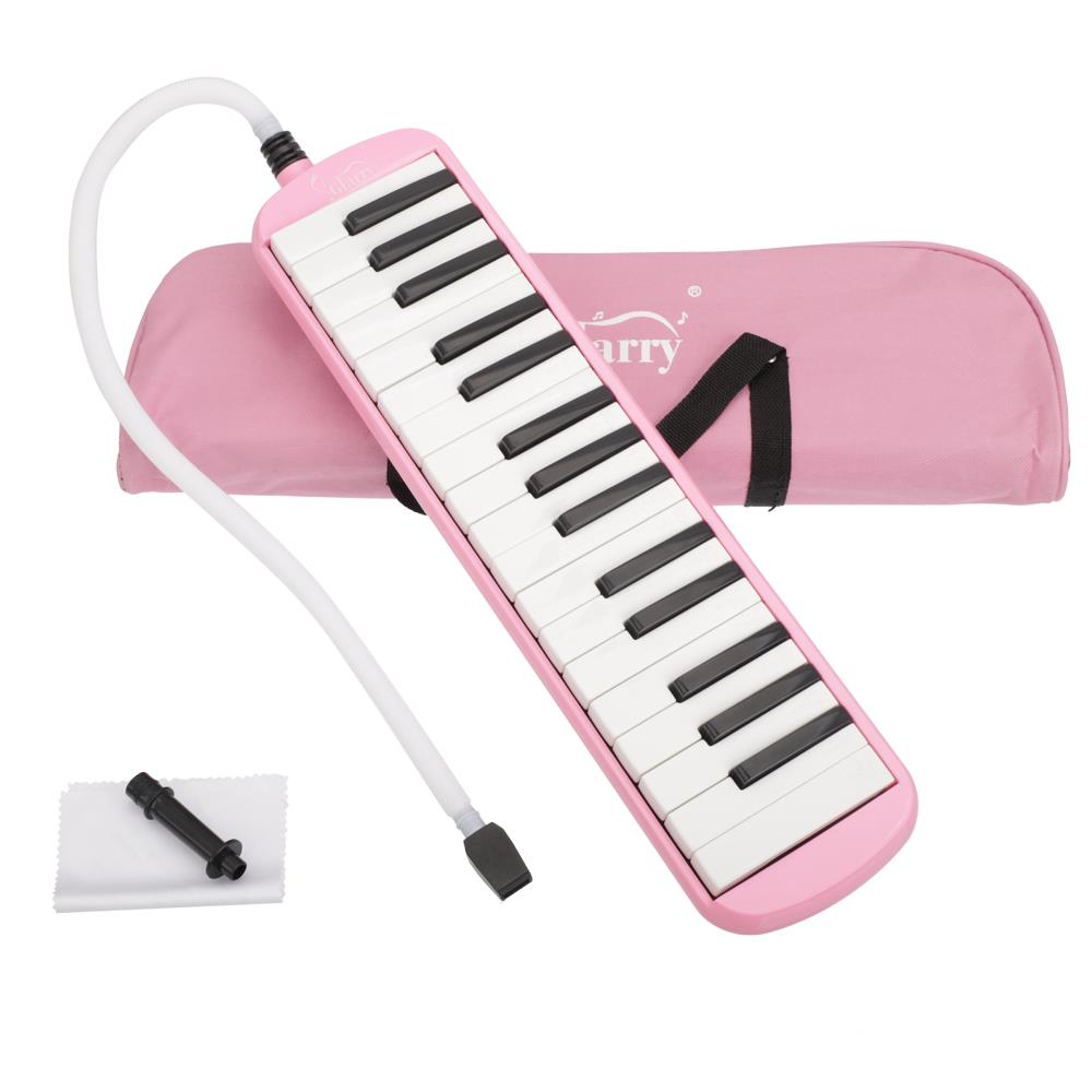 Glarry Professional 32 Keyboard Harmonica Instrument - Also Called Mouth Organ, Wind Piano