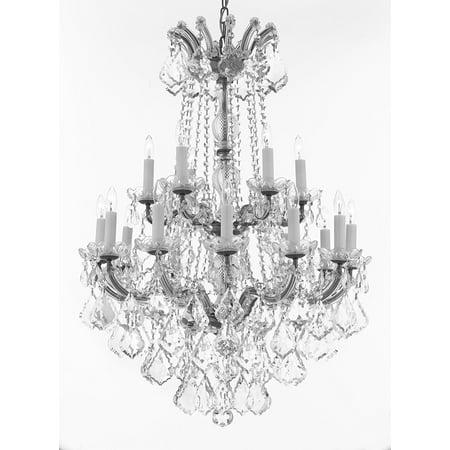 Maria Theresa Crystal Hanging Chandelier (Maria Theresa Crystal Chandelier Lighting )