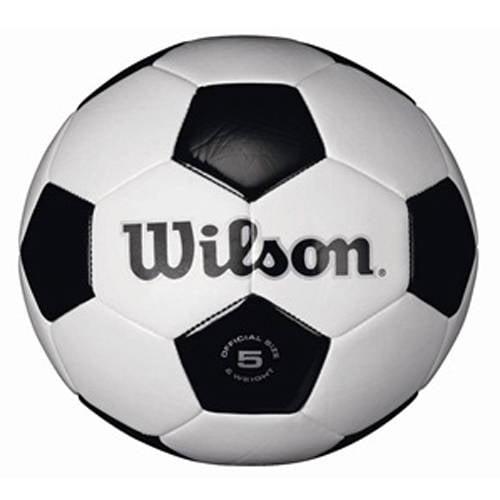 Wilson Traditional Black White Soccer Ball by Wilson Sporting Goods