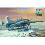 Hobby Boss F4F-3S Wild Cat Fish Airplane Model Kit Multi-Colored