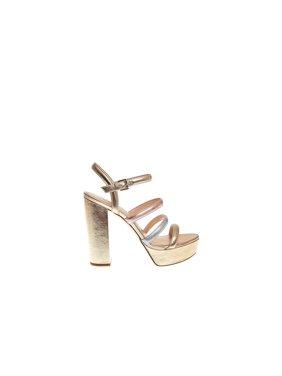 2c59c28f0549 Product Image Michael Kors Womens Nantucket Leather Open Toe Special  Occasion Slingback San.