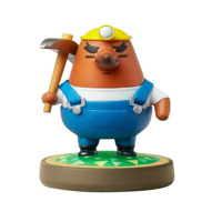 Mr.Resetti Amiibo Figure Animal Crossing Series Figure
