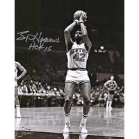 """Spencer Haywood New York Knicks Autographed 8"""" x 10"""" Shooting Photograph with """"HOF 15"""" Inscription - Fanatics Authentic Certified"""