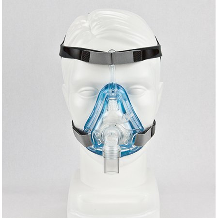 Veraseal2 Full Face (size S) CPAP Mask with Headgear (Hospital Grade) by Sleepnet (Ultra Soft