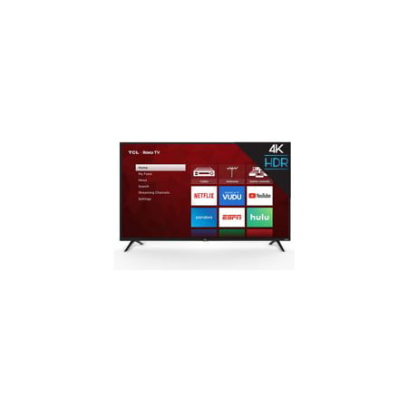 "TCL 43"" Class 4K Ultra HD (2160P) Roku Smart LED TV (43S421)"