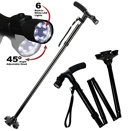 Travel Adjustable Folding Canes and Walking Sticks