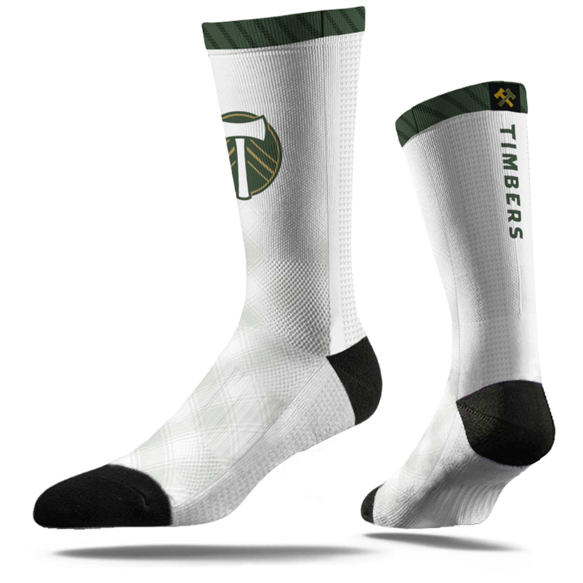 Portland Timbers Dress Socks - White - M/L