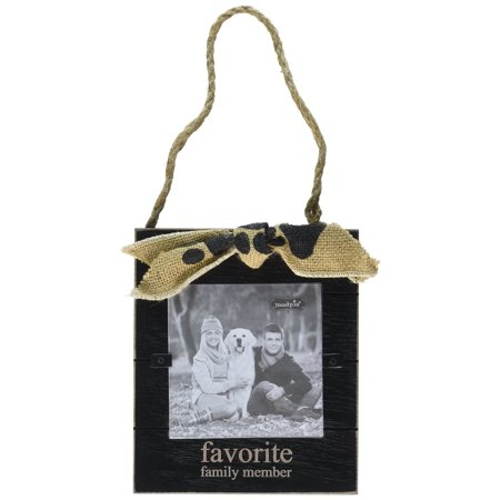 Mud Pie Favorite Family Member Door Hanger Frame Ornament 4