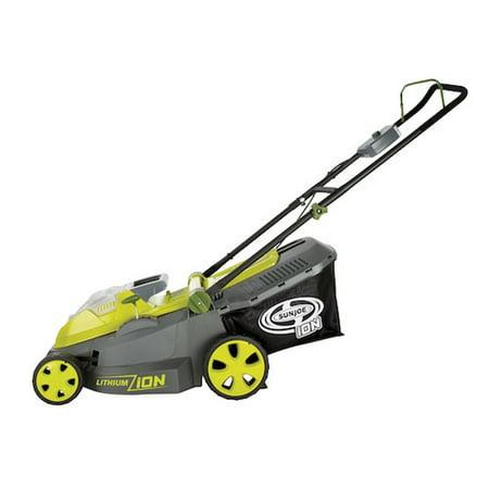 Sun Joe iON 40-Volt Cordless 16-Inch Lawn Mower w/ Brushless Motor (Refurbished A)