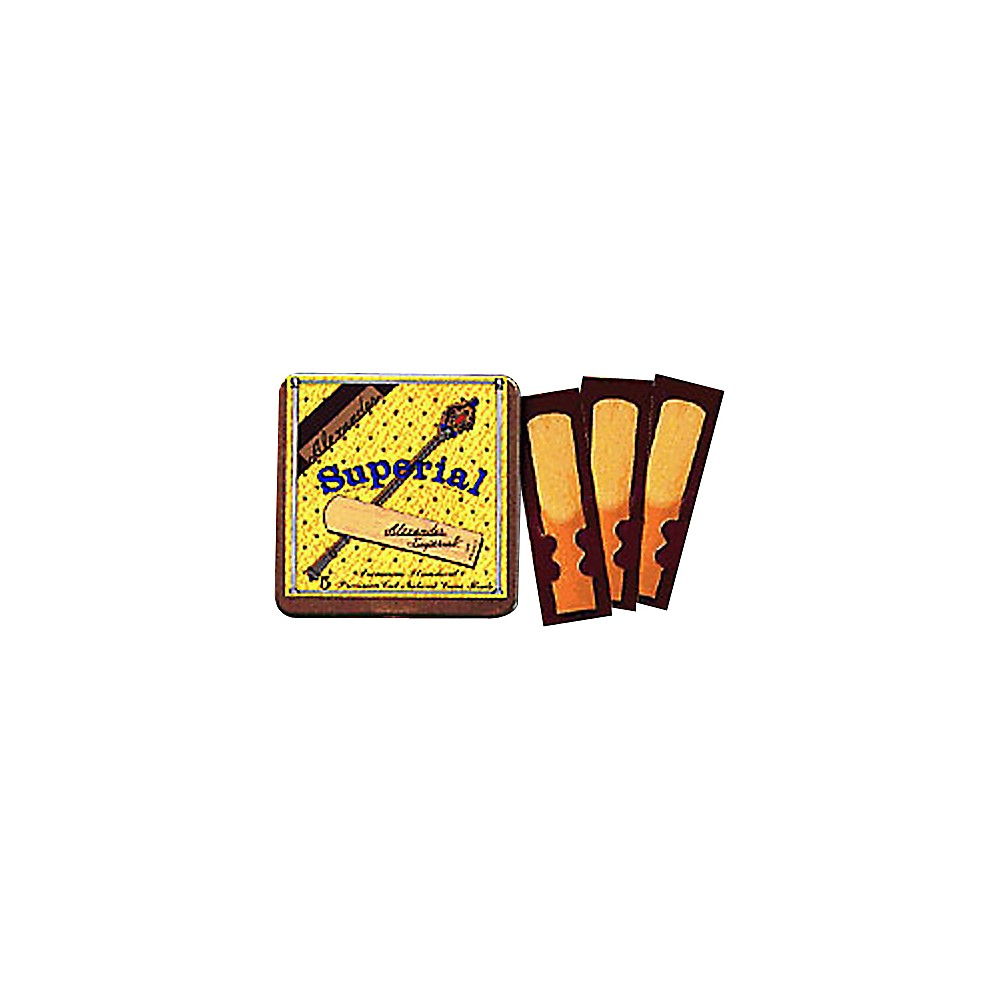 Alexander Reeds Superial Soprano Saxophone Reeds Strength 2 by Alexander Reeds