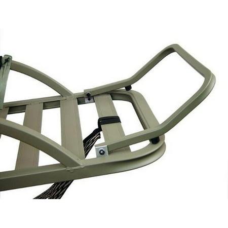 SUMMIT 4 & 5 Channel Aluminum Climbing Treestand Platform Footrest Kit - Viper (Cool Channel Platform)