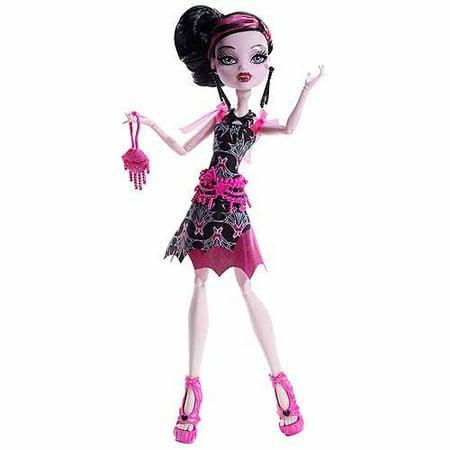 Monster High Frights Camera Action Black Carpet Draculaura Doll - Black Monster High Doll