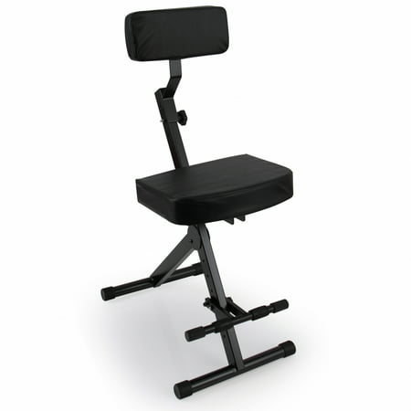 Musician & Performer Chair Seat Stool, Durable, Portable, Adjustable (Musicians Seat)