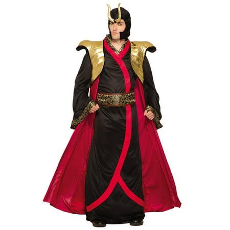 Dragon Emperor Samurai Asian Warrior Mens Adult Halloween Costume-Std - Funny Asian Halloween Costumes