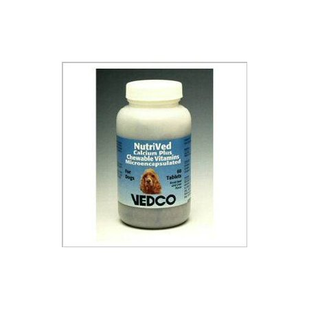 Nutrived Calcium Plus Croquer Vitamines pour les chiens - 60 comprimés
