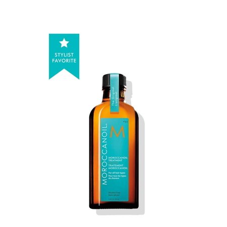 Moroccan Oil Hair Treatment 100 ml Bottle with Blue Box for all hair (Indulekha Bringha Hair Oil Selfie Bottle Review)