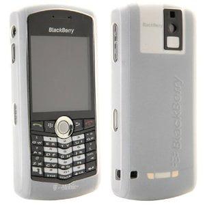BlackBerry Skin Case for BlackBerry Pearl 8100 (White)