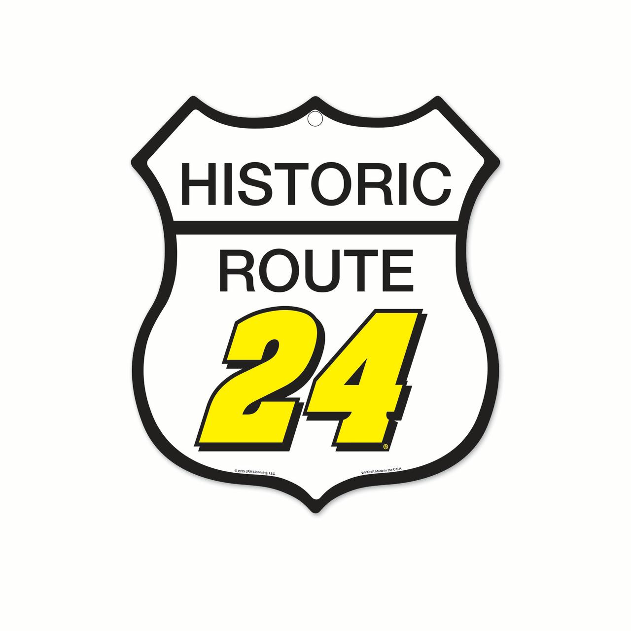 """Jeff Gordon Official Nascar 10"""" x 11"""" Route Plastic Wall Sign 11x17 by Wincraft 105868 by Wincraft"""