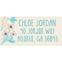 Thankful Florist Personalized Address Label