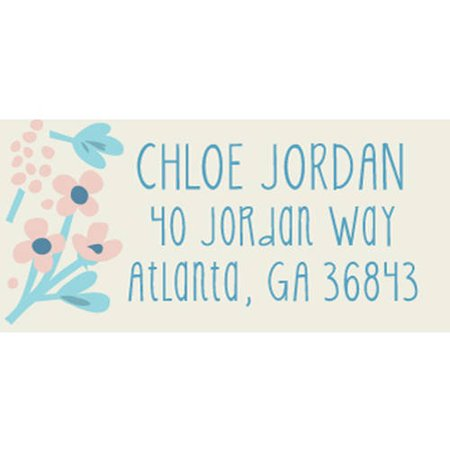 Thankful Florist Personalized Address Label](Personalized Labels)
