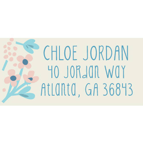 Thankful Florist Personalized Address Label