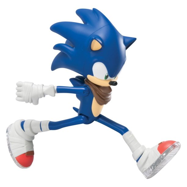 Sonic The Hedgehog Tomy Sonic W Running Action 7 Action Figure Stands 7 Tall By Sega Walmart Com Walmart Com