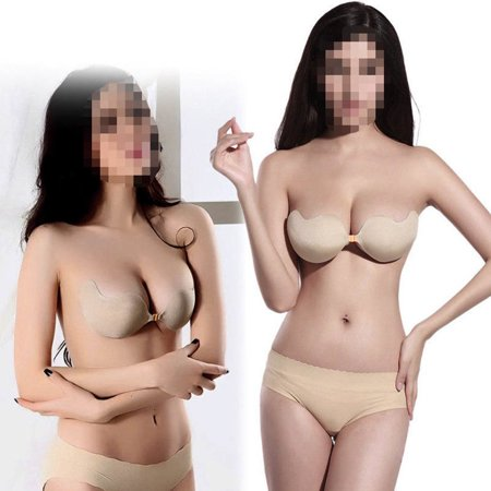 OUTAD - Sexy Push Up Self-Adhesive Silicone Bust Front Closure ... 3f428f406
