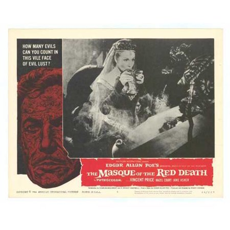 Masque of the Red Death POSTER Movie F Mini - Masques Halloween