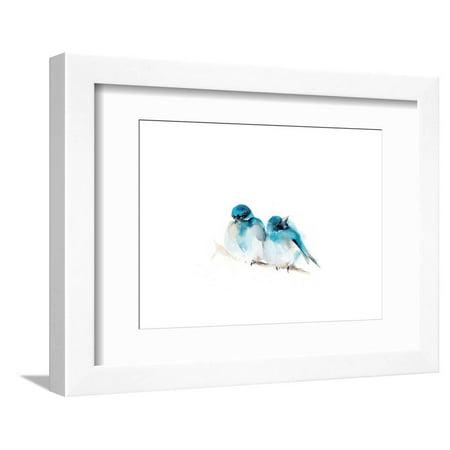 Blue Buds Framed Print Wall Art By Sophia Rodionov ()
